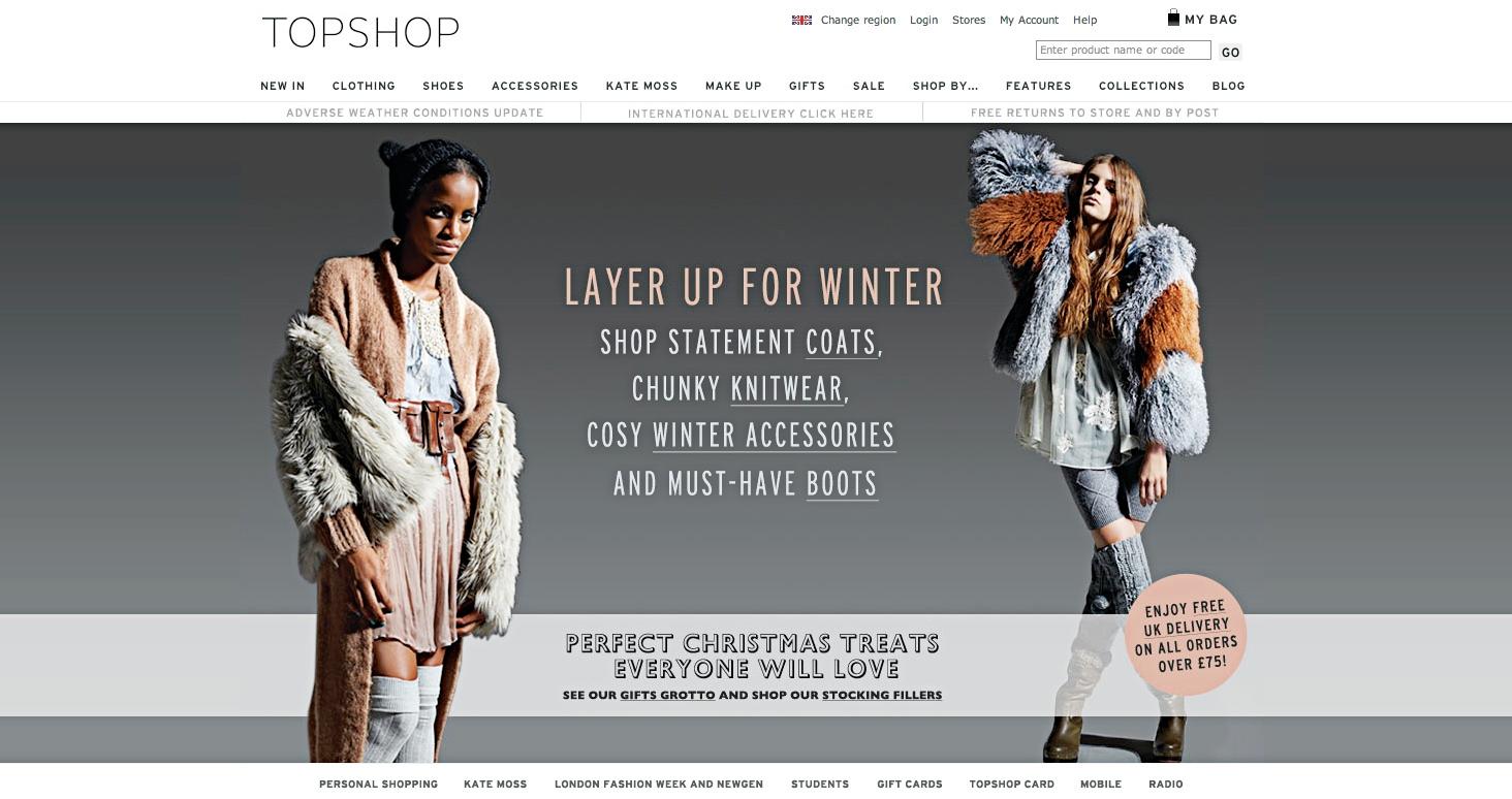 Topshop Женская Одежда Адреса